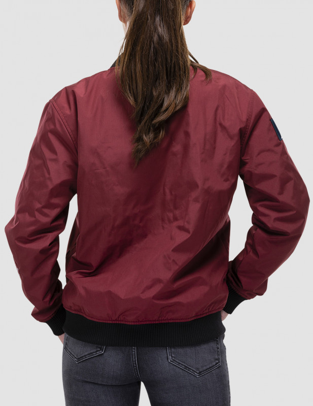 bomber first section femme vue dos