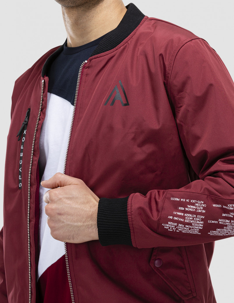 bomber first section torse
