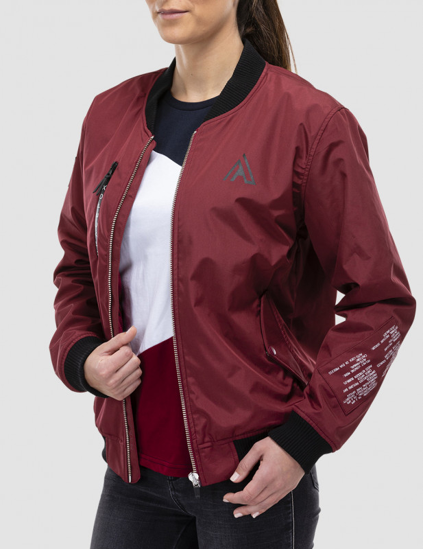 bomber first section vue face femme
